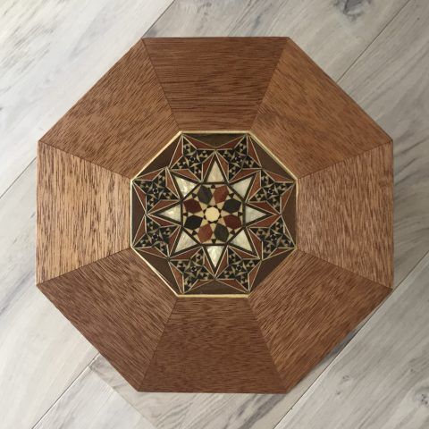 Syrian Inlay Side Table